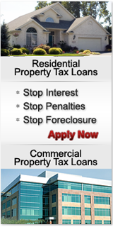 Texas Property Tax Loan Application